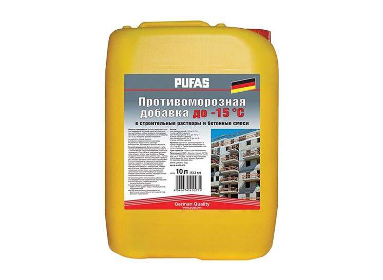 антиморозные добавки для бетона расход